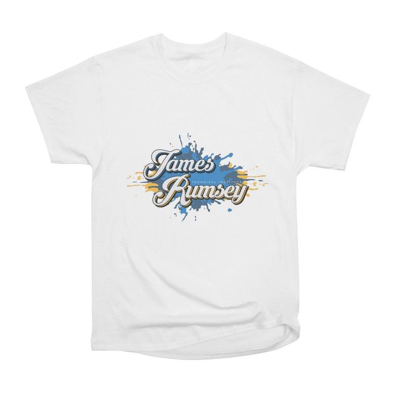 JRTI Splatter Women's Heavyweight Unisex T-Shirt by James Rumsey Technical Institute