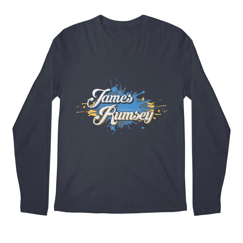 JRTI Splatter Men's Regular Longsleeve T-Shirt by James Rumsey Technical Institute