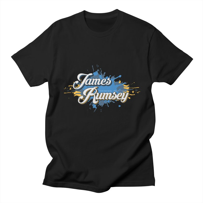 JRTI Splatter Men's Regular T-Shirt by James Rumsey Technical Institute
