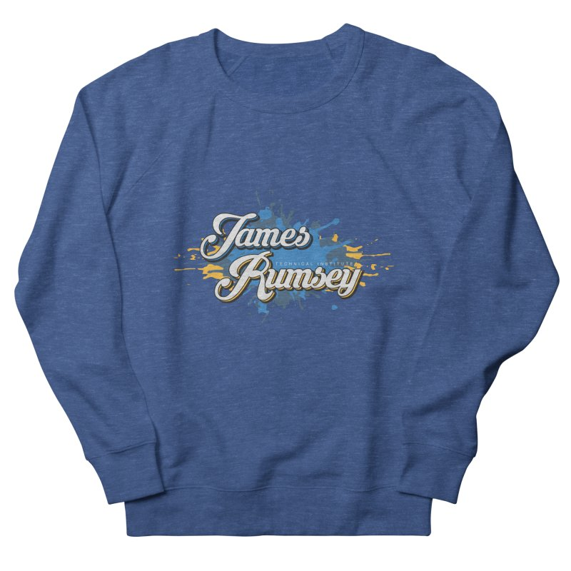 JRTI Splatter Women's French Terry Sweatshirt by James Rumsey Technical Institute