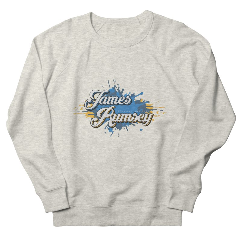 JRTI Splatter Men's French Terry Sweatshirt by James Rumsey Technical Institute