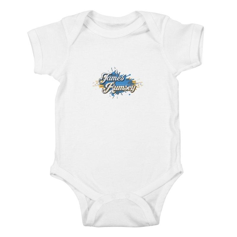 JRTI Splatter Kids Baby Bodysuit by James Rumsey Technical Institute