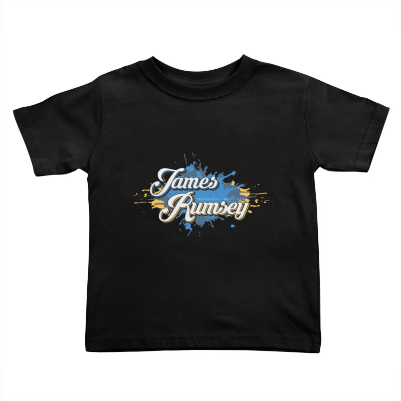 JRTI Splatter Kids Toddler T-Shirt by James Rumsey Technical Institute