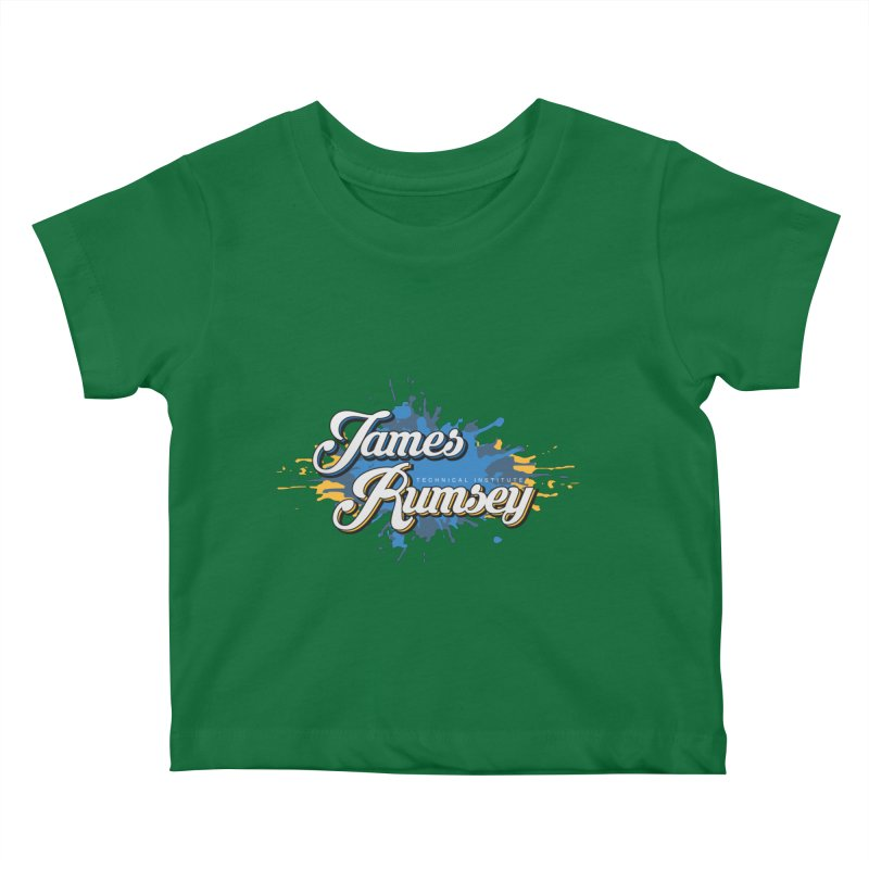 JRTI Splatter Kids Baby T-Shirt by James Rumsey Technical Institute
