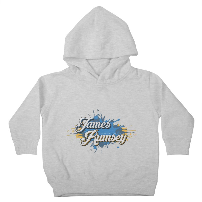 JRTI Splatter Kids Toddler Pullover Hoody by James Rumsey Technical Institute