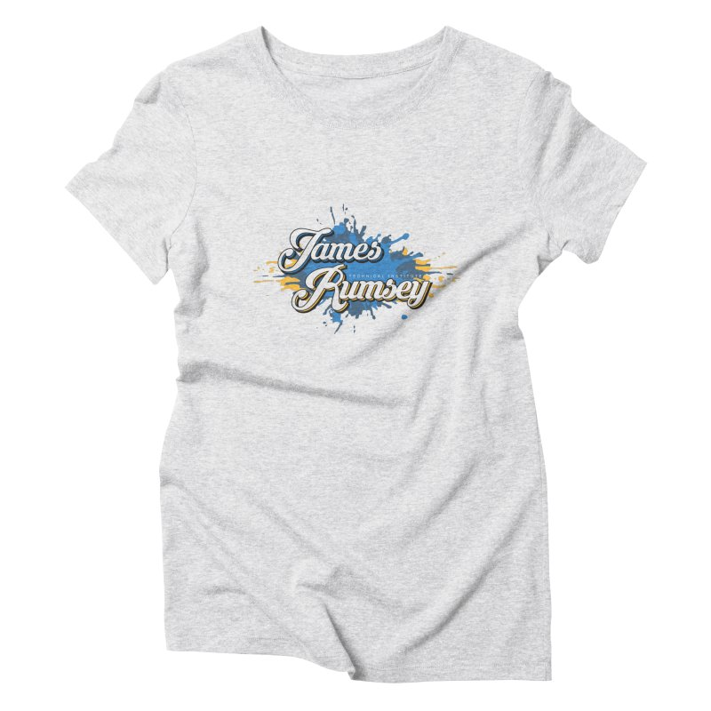 JRTI Splatter Women's T-Shirt by James Rumsey Technical Institute