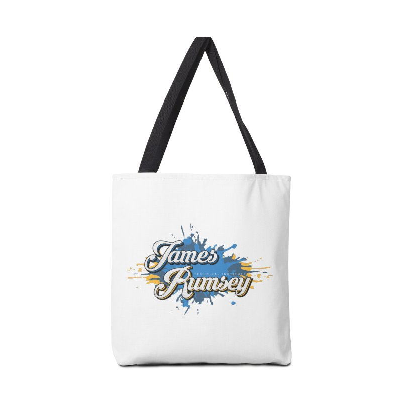 JRTI Splatter Accessories Tote Bag Bag by James Rumsey Technical Institute