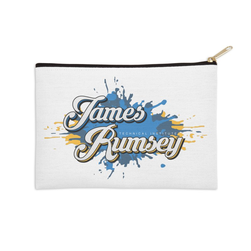 JRTI Splatter Accessories Zip Pouch by James Rumsey Technical Institute