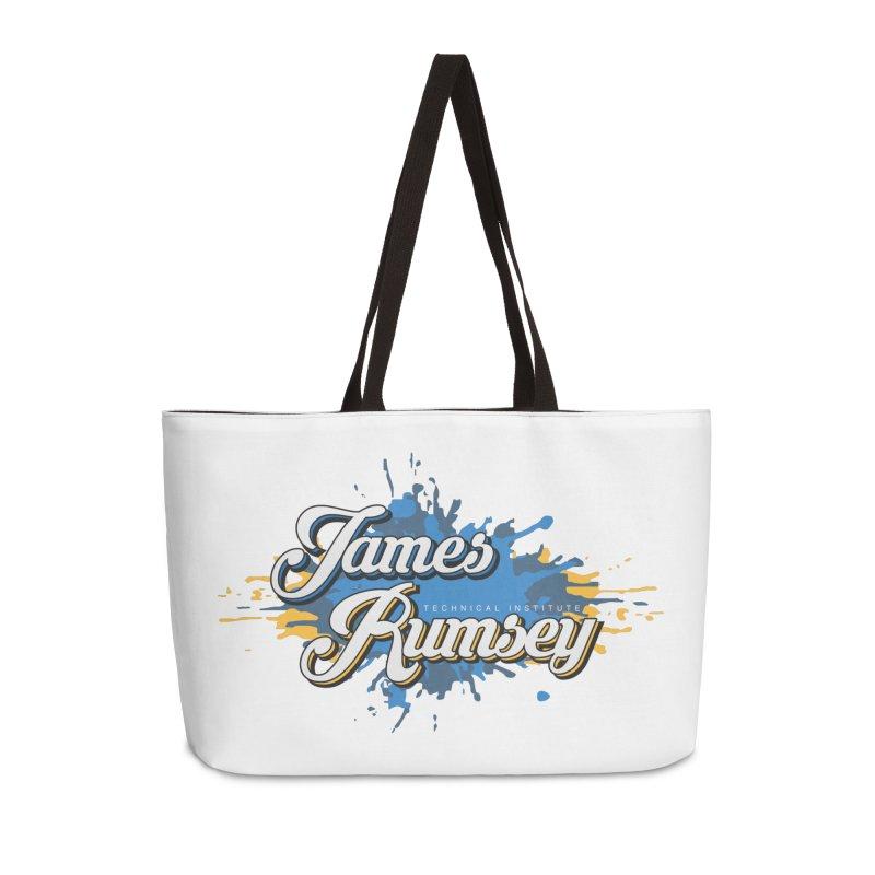 JRTI Splatter Accessories Weekender Bag Bag by James Rumsey Technical Institute