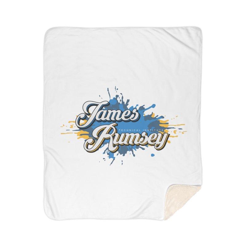 JRTI Splatter Home Sherpa Blanket Blanket by James Rumsey Technical Institute