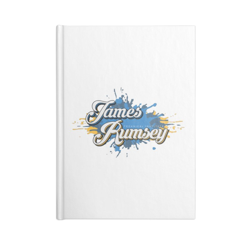 JRTI Splatter Accessories Notebook by James Rumsey Technical Institute