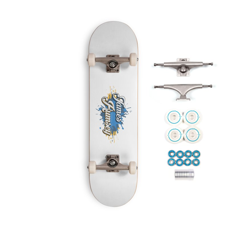 JRTI Splatter Accessories Skateboard by James Rumsey Technical Institute