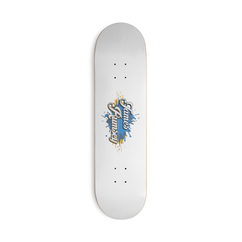 JRTI Splatter Accessories Deck Only Skateboard by James Rumsey Technical Institute
