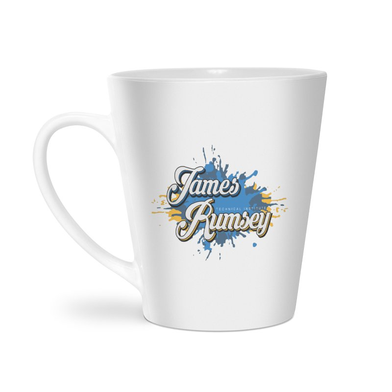 JRTI Splatter Accessories Latte Mug by James Rumsey Technical Institute
