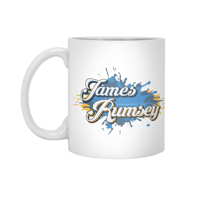 JRTI Splatter Accessories Standard Mug by James Rumsey Technical Institute