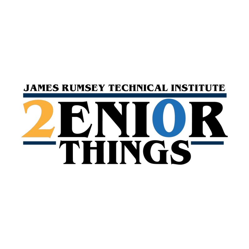 Senior Things Kids T-Shirt by James Rumsey Technical Institute