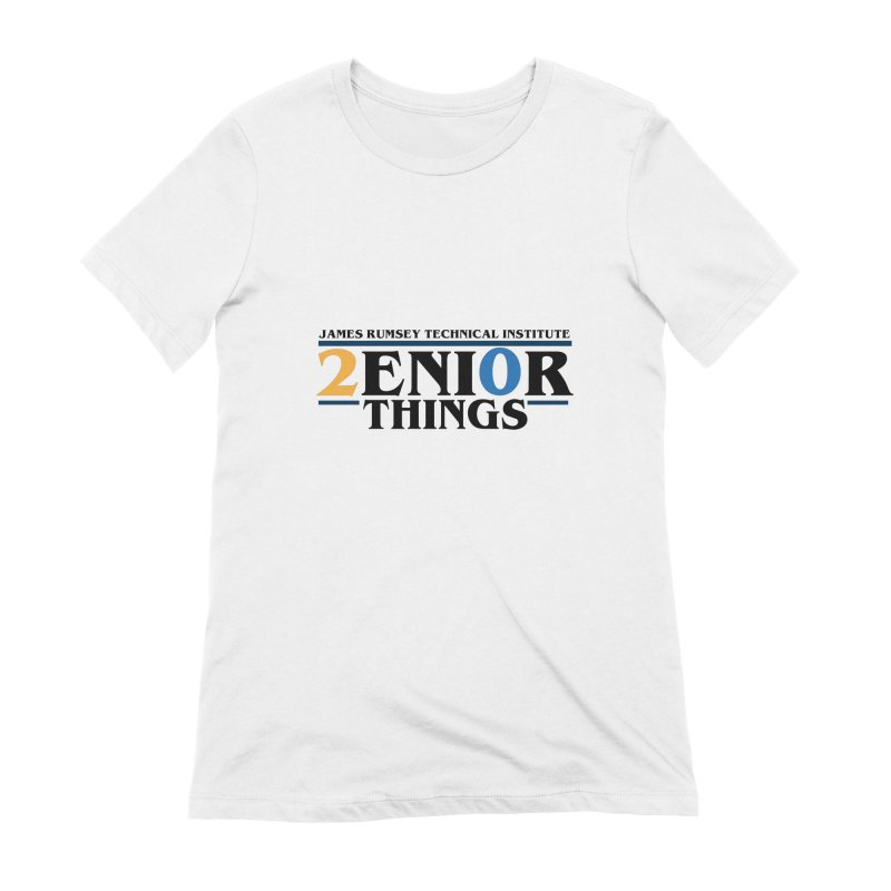 Senior Things Women's Extra Soft T-Shirt by James Rumsey Technical Institute