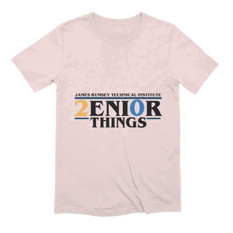 Senior Things Men's Extra Soft T-Shirt by James Rumsey Technical Institute