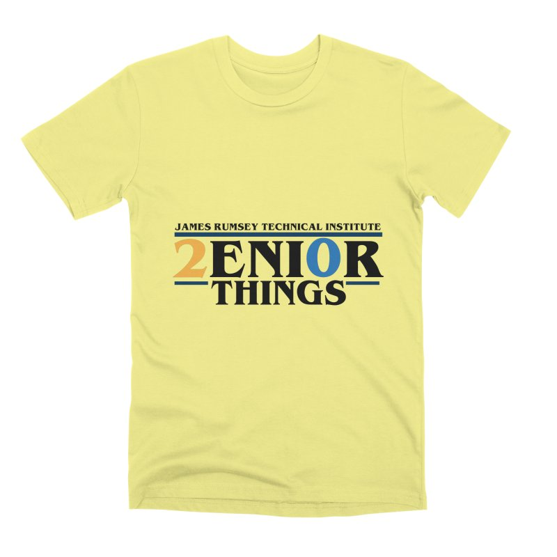 Senior Things Men's Premium T-Shirt by James Rumsey Technical Institute