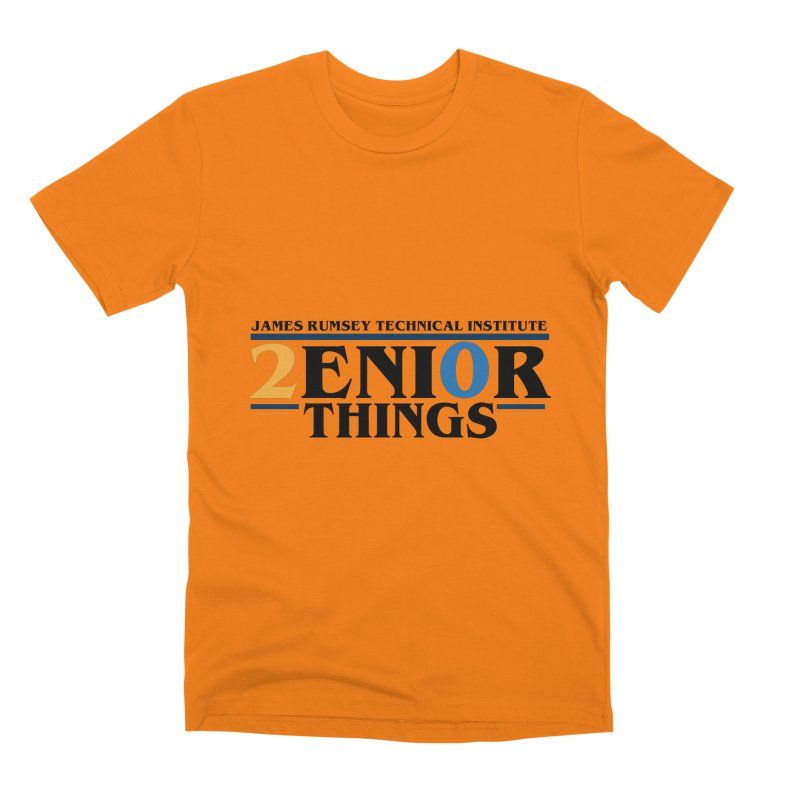 Senior Things Men's T-Shirt by James Rumsey Technical Institute