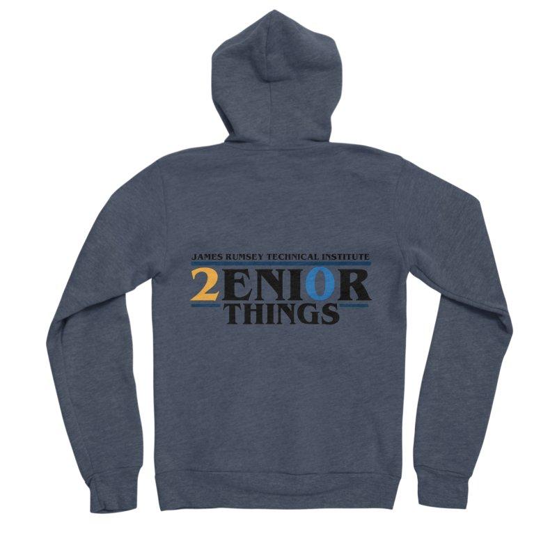 Senior Things Men's Sponge Fleece Zip-Up Hoody by James Rumsey Technical Institute