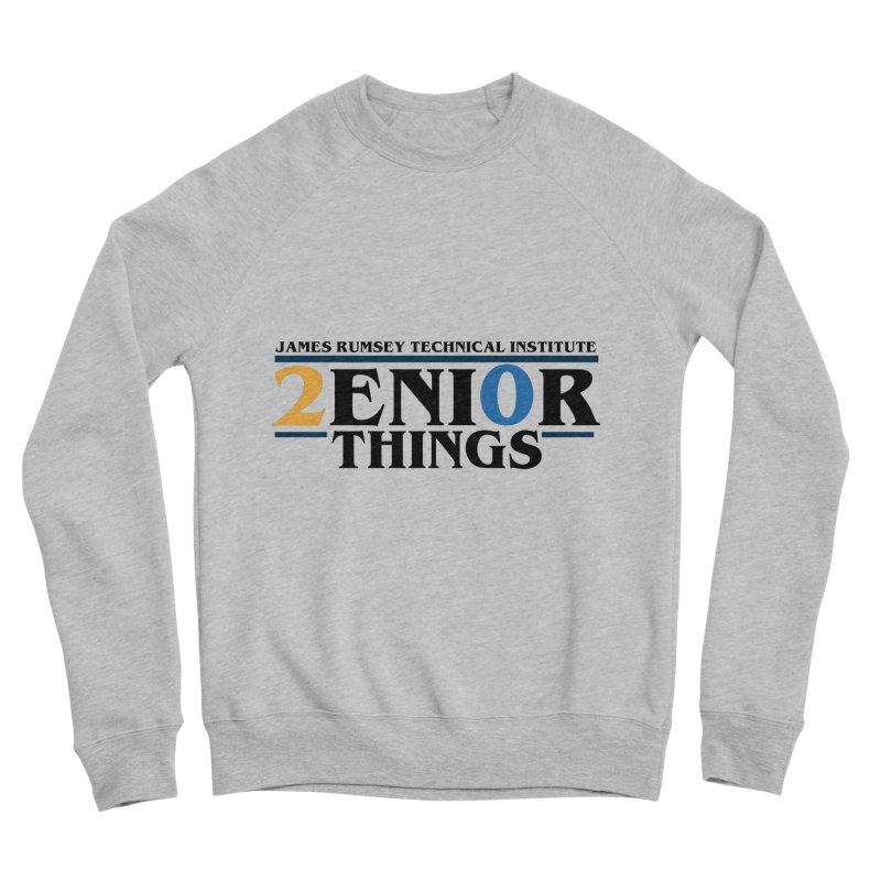 Senior Things Men's Sponge Fleece Sweatshirt by James Rumsey Technical Institute