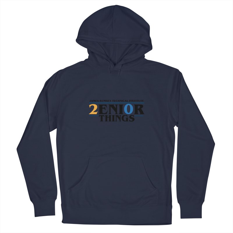 Senior Things Men's Pullover Hoody by James Rumsey Technical Institute