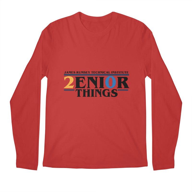 Senior Things Men's Regular Longsleeve T-Shirt by James Rumsey Technical Institute