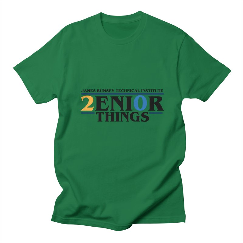 Senior Things Men's Regular T-Shirt by James Rumsey Technical Institute