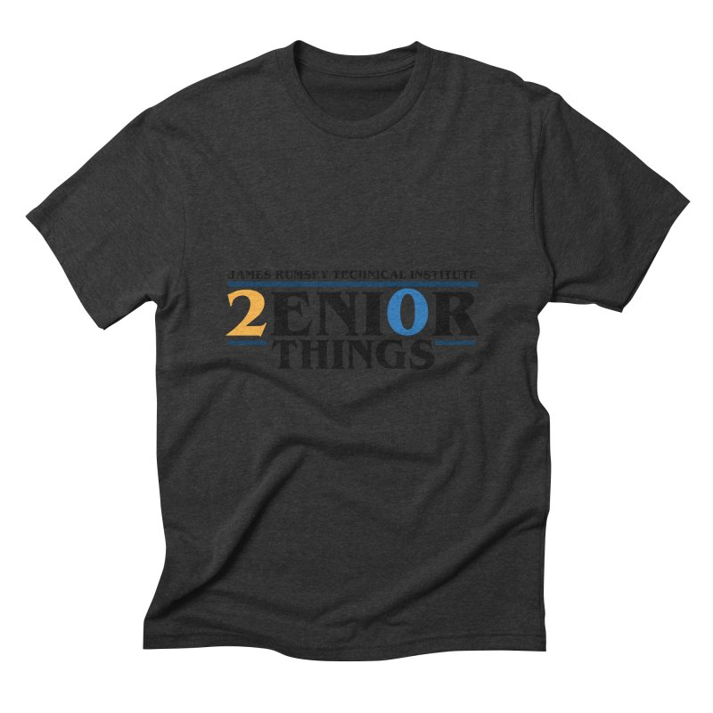 Senior Things Men's Triblend T-Shirt by James Rumsey Technical Institute