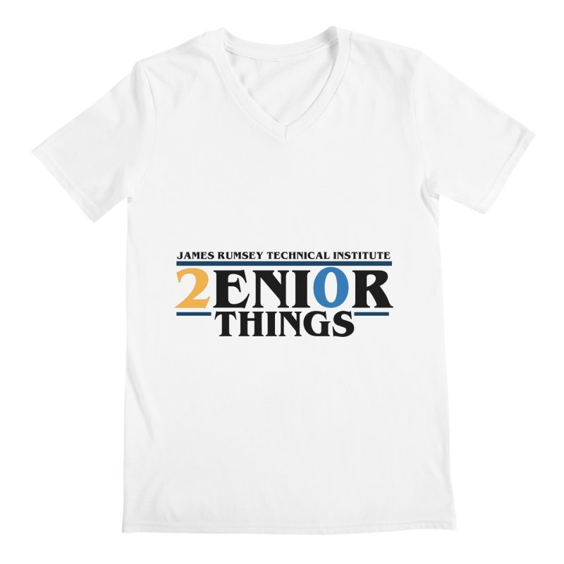 Senior Things Men's V-Neck by James Rumsey Technical Institute