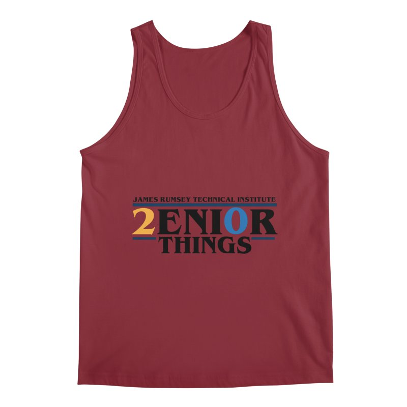 Senior Things Men's Tank by James Rumsey Technical Institute