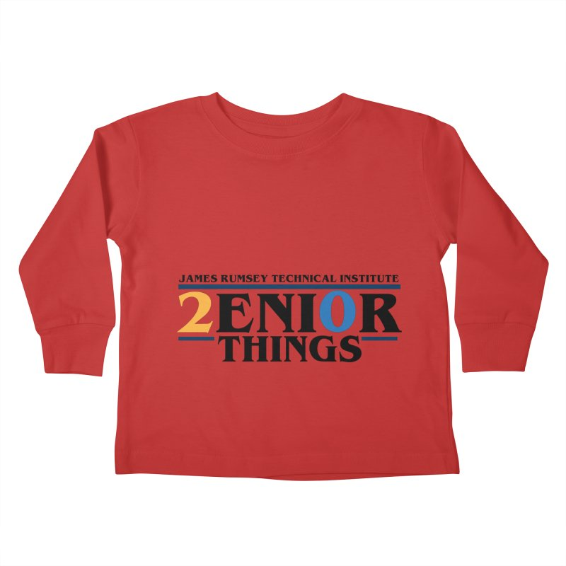 Senior Things Kids Toddler Longsleeve T-Shirt by James Rumsey Technical Institute
