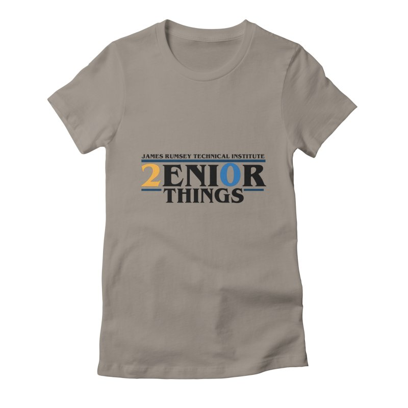 Senior Things Women's Fitted T-Shirt by James Rumsey Technical Institute