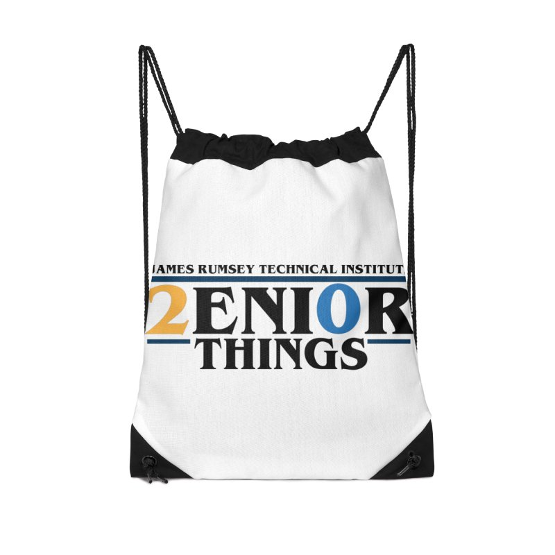 Senior Things Accessories Drawstring Bag Bag by James Rumsey Technical Institute