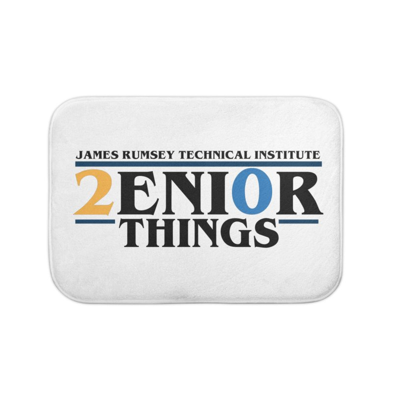Senior Things Home Bath Mat by James Rumsey Technical Institute