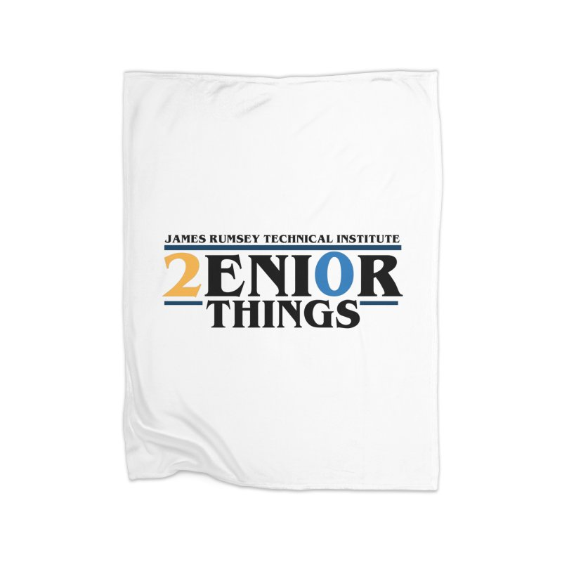 Senior Things Home Blanket by James Rumsey Technical Institute