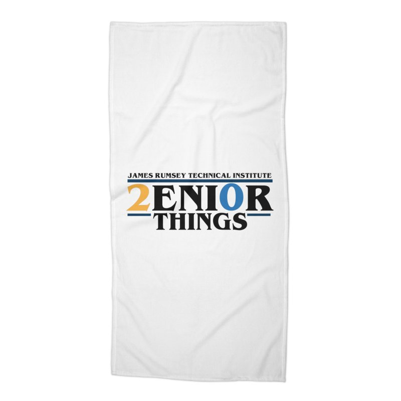 Senior Things Accessories Beach Towel by James Rumsey Technical Institute