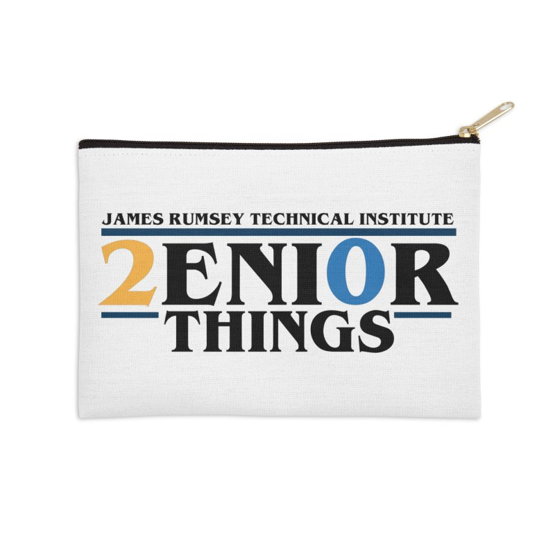 Senior Things Accessories Zip Pouch by James Rumsey Technical Institute