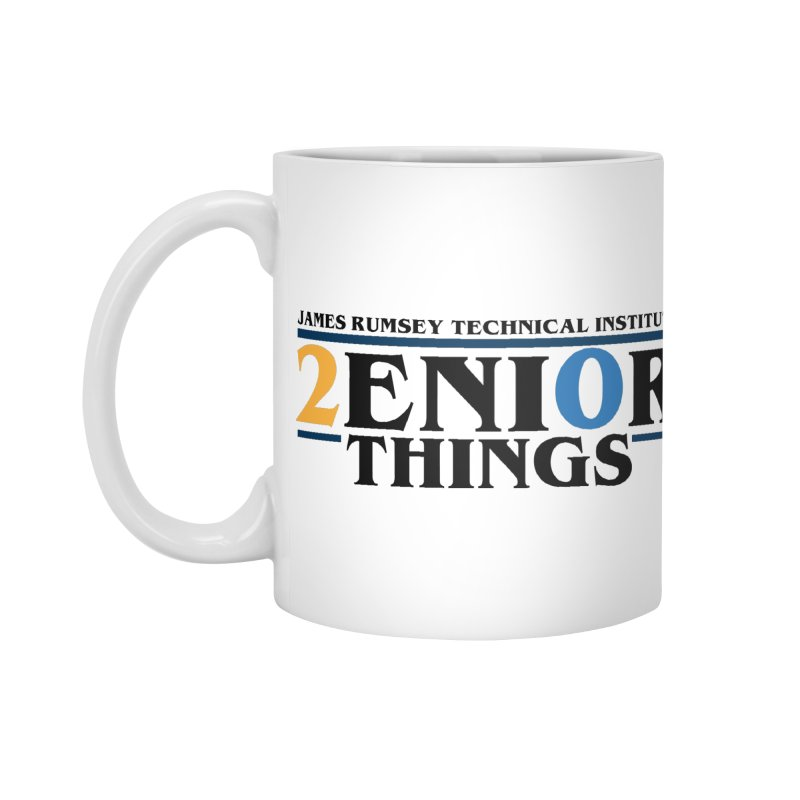 Senior Things Accessories Standard Mug by James Rumsey Technical Institute