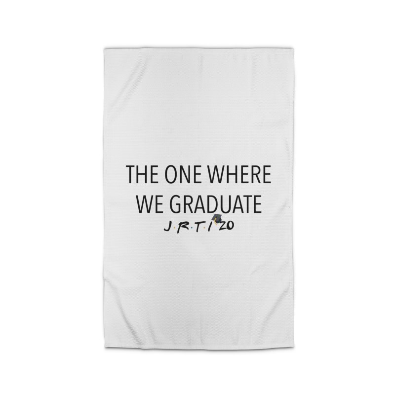 The One Where We Graduate Home Rug by James Rumsey Technical Institute
