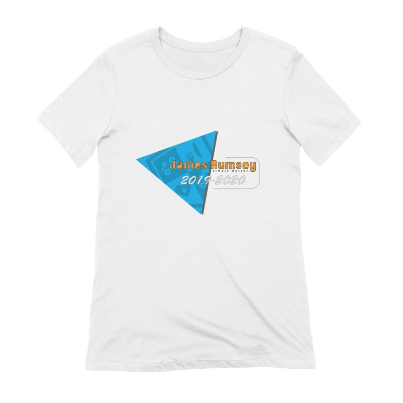 Retro Design With Shield Women's Extra Soft T-Shirt by James Rumsey Technical Institute
