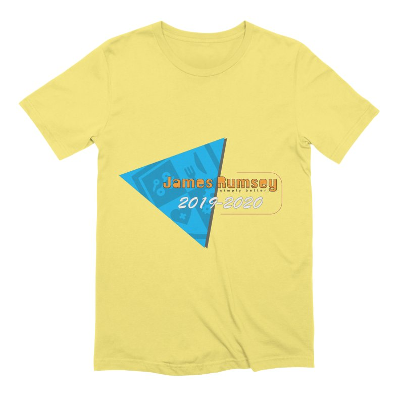 Retro Design With Shield Men's Extra Soft T-Shirt by James Rumsey Technical Institute
