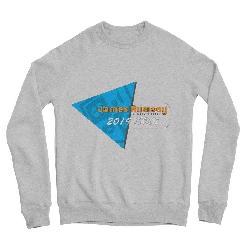 Retro Design With Shield Women's Sponge Fleece Sweatshirt by James Rumsey Technical Institute