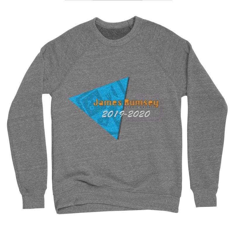 Retro Design With Shield Men's Sponge Fleece Sweatshirt by James Rumsey Technical Institute