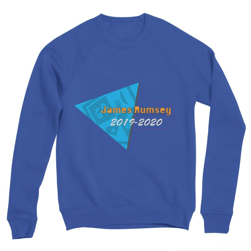 Retro Design With Shield Men's Sweatshirt by James Rumsey Technical Institute