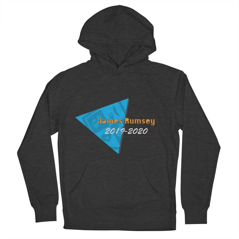 Retro Design With Shield Men's French Terry Pullover Hoody by James Rumsey Technical Institute