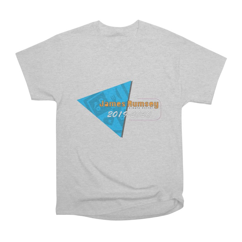 Retro Design With Shield Men's Heavyweight T-Shirt by James Rumsey Technical Institute