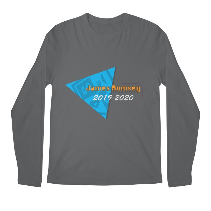 Retro Design With Shield Men's Longsleeve T-Shirt by James Rumsey Technical Institute