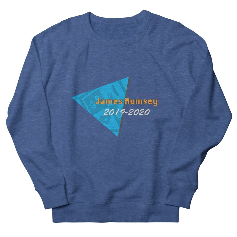 Retro Design With Shield Women's French Terry Sweatshirt by James Rumsey Technical Institute